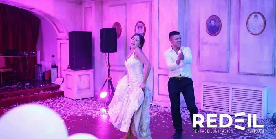 bodas con iluminacion