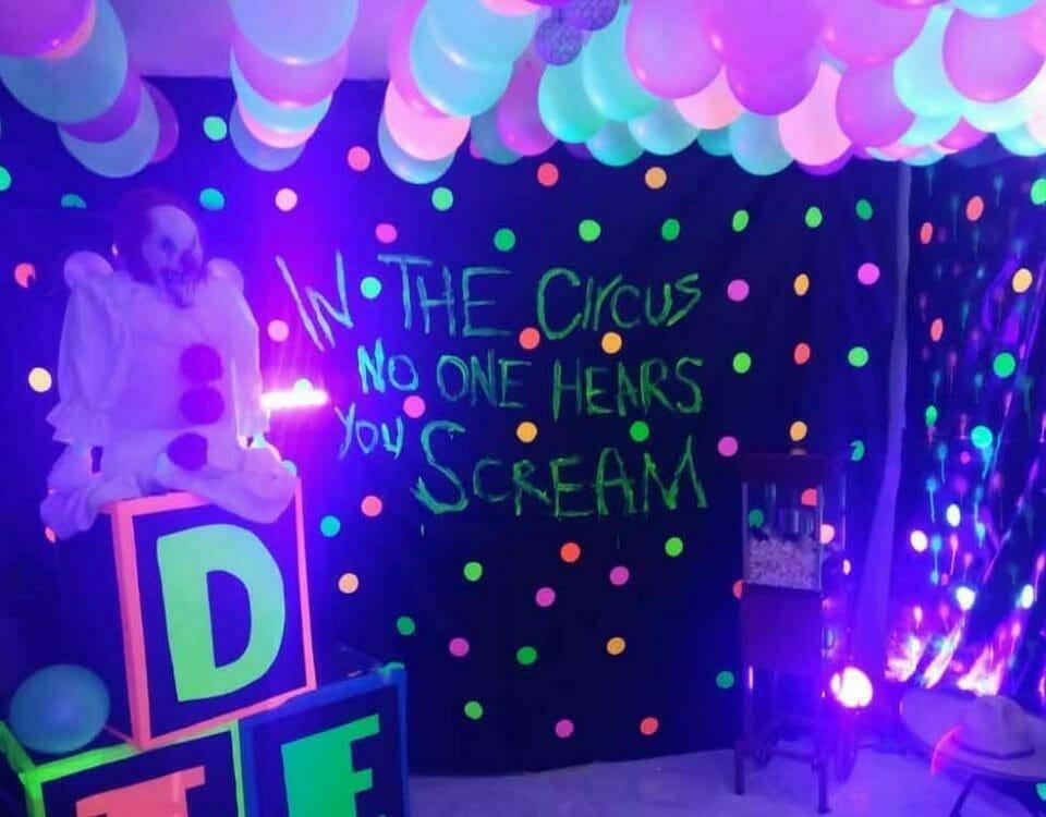 iluminación neon