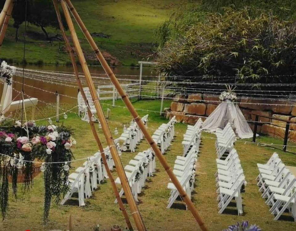 jardin boda vintage