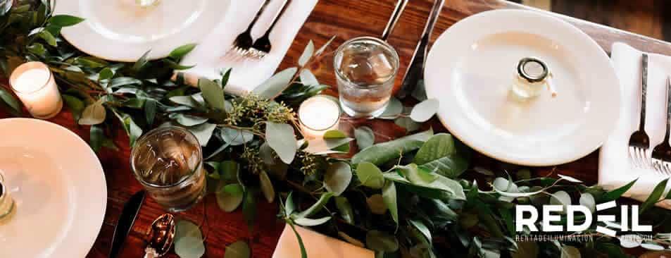 alimentos para bodas