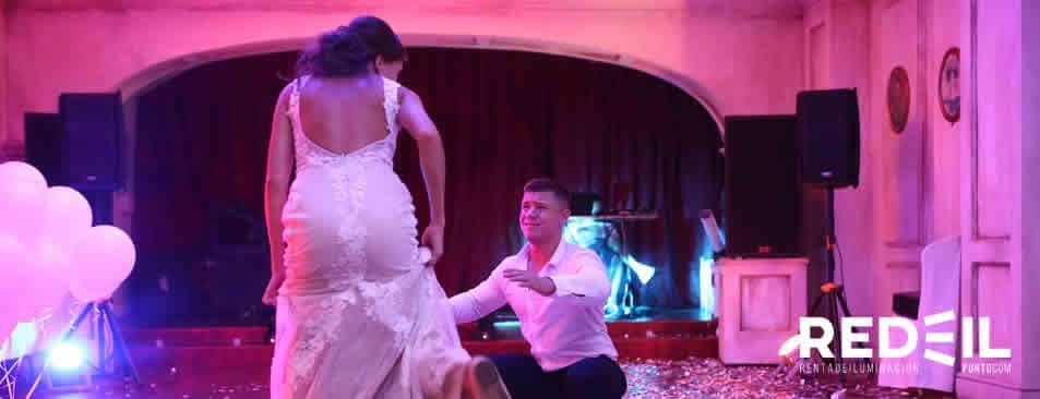 iluminacion y sonido para bodas