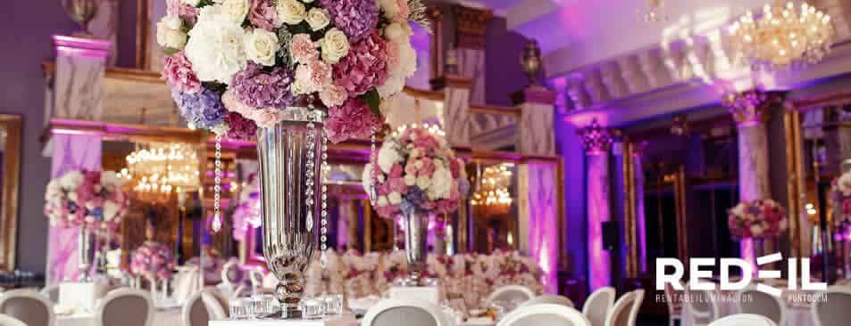ilumincion para bodas