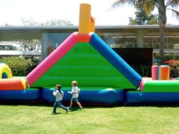 tobogan inflable para fiestas